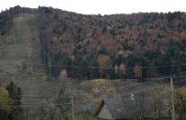 Вид лыжной трассы, фото 1