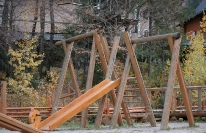 парк у горнолыжного склона, фото 3